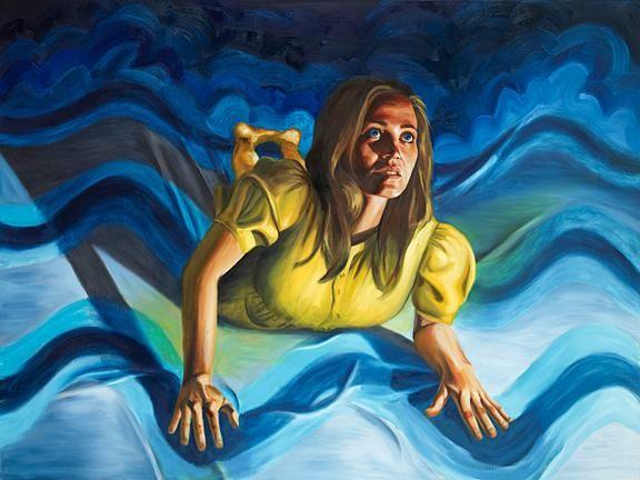 Vanessa Prager, Sea of Love, 2008,  Oil on linen, 36 x 48 inches