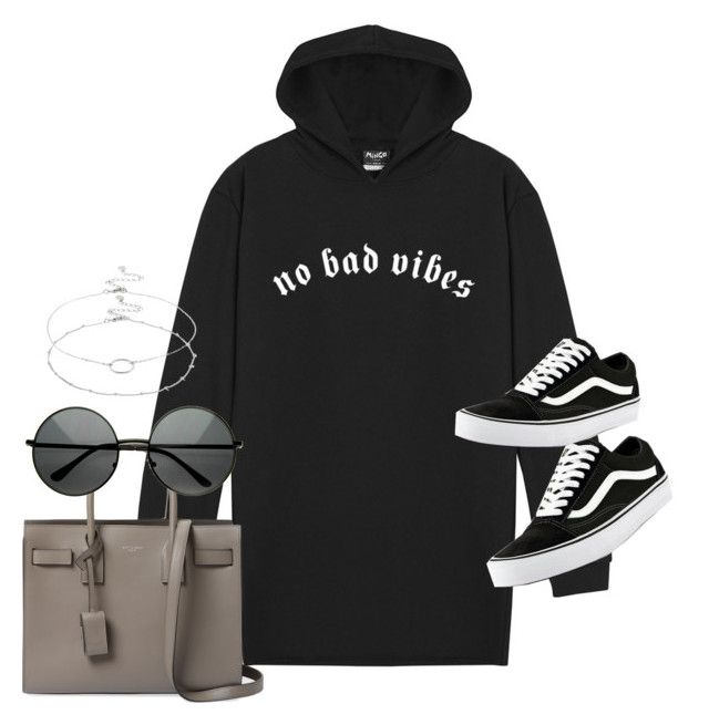 """""""Untitled #2223"""" by sarah-ihab ❤ liked on Polyvore featuring Yves Saint Laurent, Vans and Accessorize"""