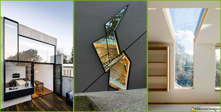 Scopriamo attraverso 30 progetti sorprendenti particolarità e caratteristiche di vari modelli di finestre moderne che vanno a completare case da sogno