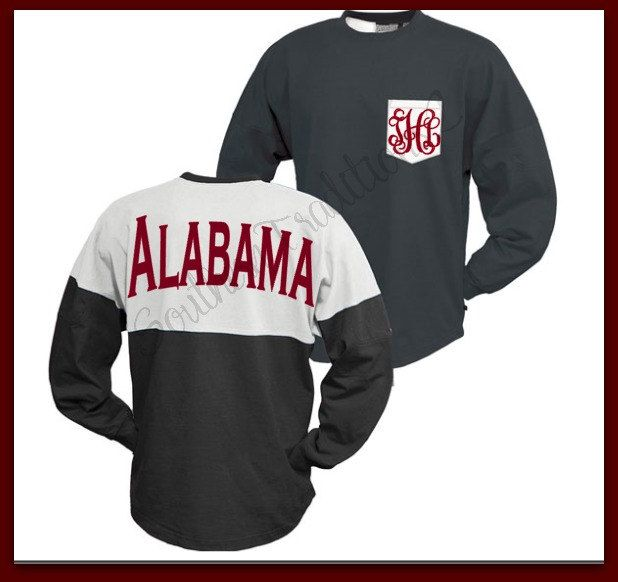 Spirit Jersey - Custom Spirit Jersey - College Spirit Jersey - Game day Jersey by SouthernTraditions2 on Etsy