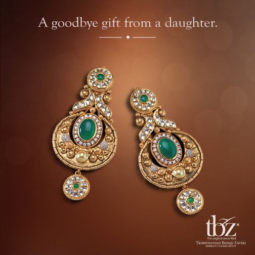 Dear #BrideToBe make your #wedding day, your mother's favourite day. #WeddingsbyTBZ #TBZ #Jewellery #Gold #Diamond #Indian #Bride #Jewels #Gift #Daughter