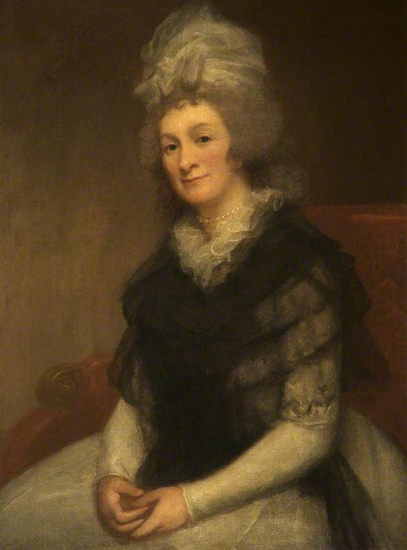 Lady Henrietta Cavendish-Bentinck (1737–1827), Countess of Stamford by George Romney, c.1790