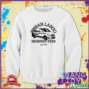 Petrolhead People Carrier Nissan Largo Highway Star Sweatshirt  Our Price: £19.97