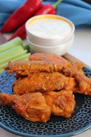 No Fry Copycat Chicken Buffalo Wild Wings Recipe - super bowl Sunday recipe