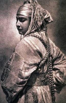 Imagen de una de las fotográfias del legado de José Ortiz Echagüe, titulada Mora de Fez (1910)