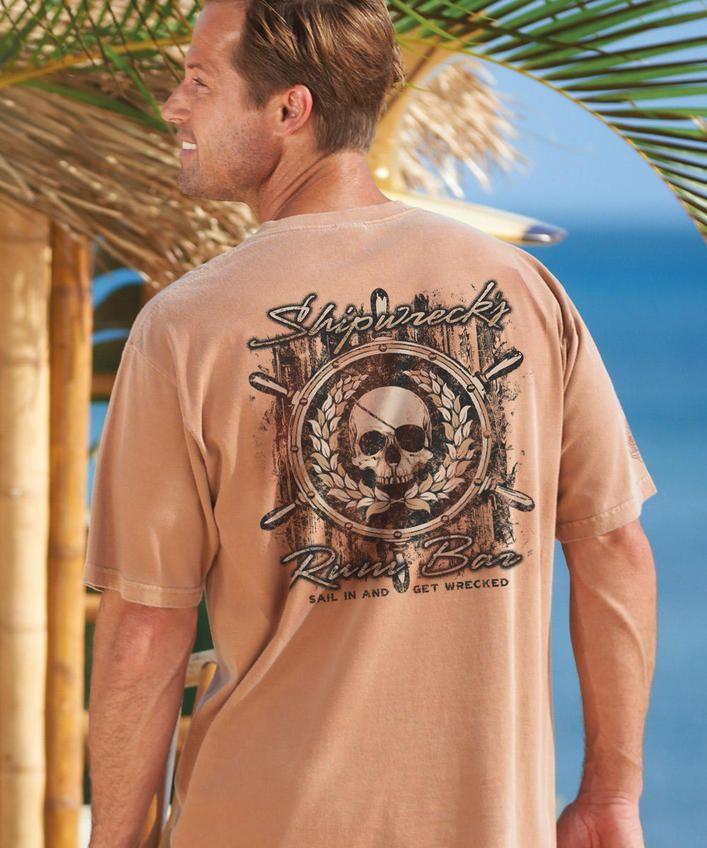 Shipwrecks Rum Bar - Rum-Dyed The Classic Crew