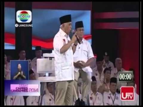 Final Debat Capres RI, 5 Juli 2014 - Prabowo Hatta VS Jokowi JK ( Segmen...