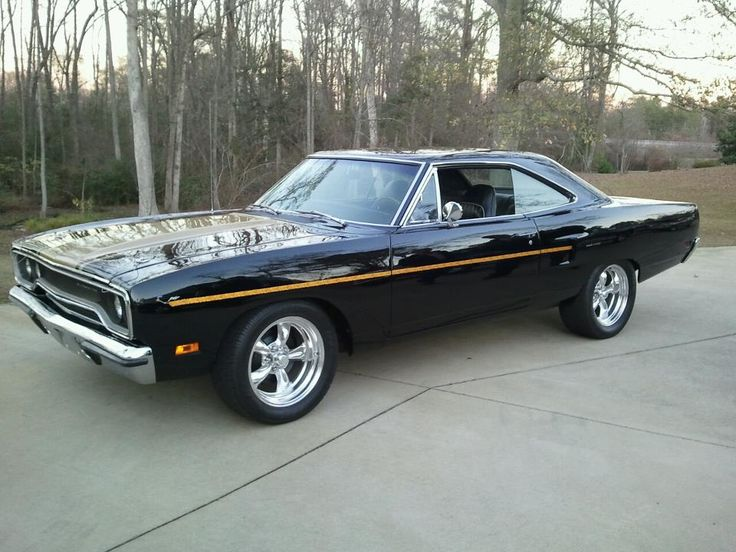 1970 Plymouth Road Runner Black