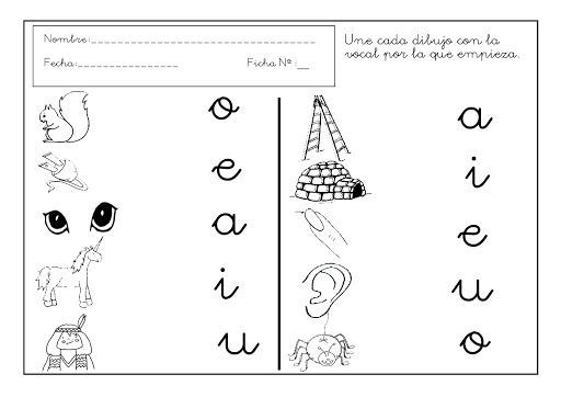 Vocales Manuscritas Para Colorear Imagui Manuscrito