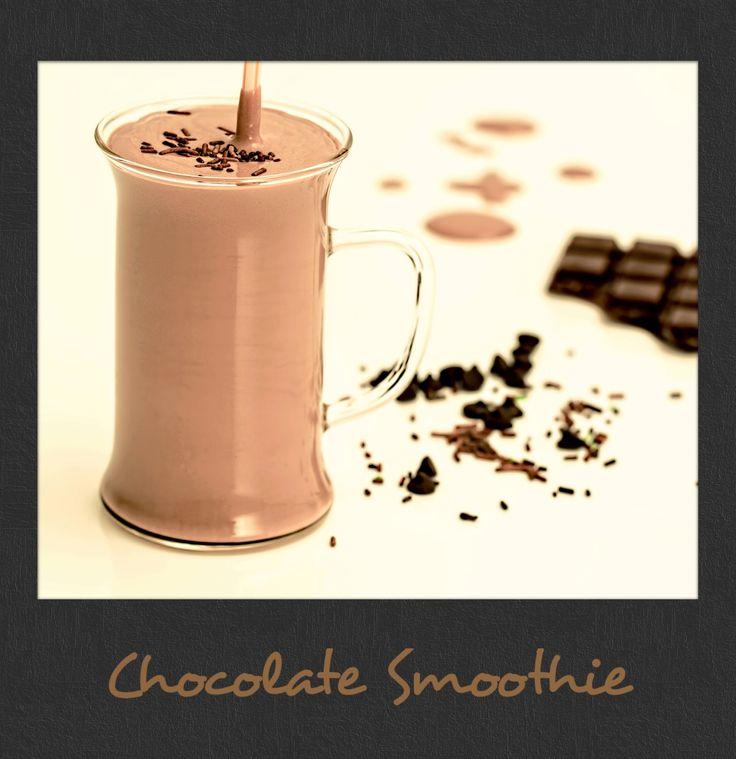 For #ChocolateLovers: #Homemade #Chocolate #Smoothie! #PolaroidFx #Polaroid #Frame #Filter #Dessert #Milkshake #Yummy #Sweet #Sugar #Food