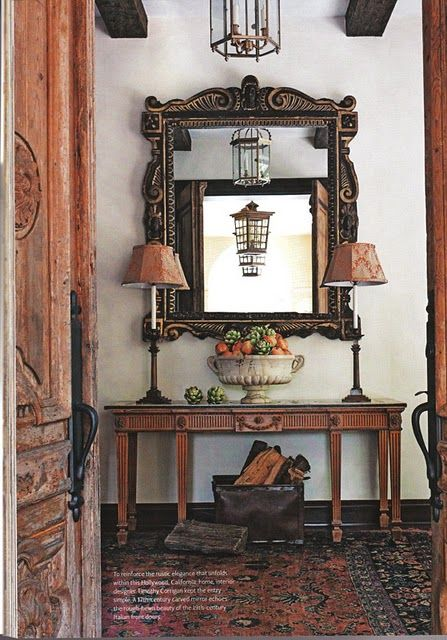 Foyer Luxury Outlet : Best vintage spanish homes gardens images on