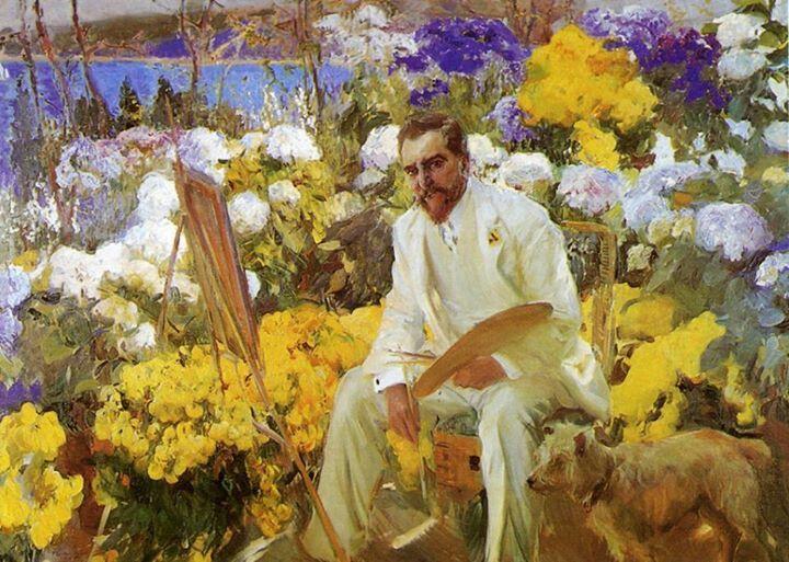 Joaquín Sorolla y Bastida, (Valencia, 27 de febrero de 1863 - Cercedilla, provincia de Madrid, 10 de agosto de 1923) - pintor español de La Luz y del Mediterráneo.