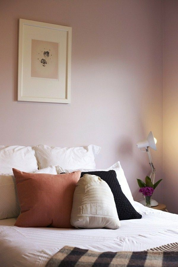 The 25 best mauve bedroom ideas on pinterest mauve walls mauve color and mauve living room - Wandfarbe mauve ...
