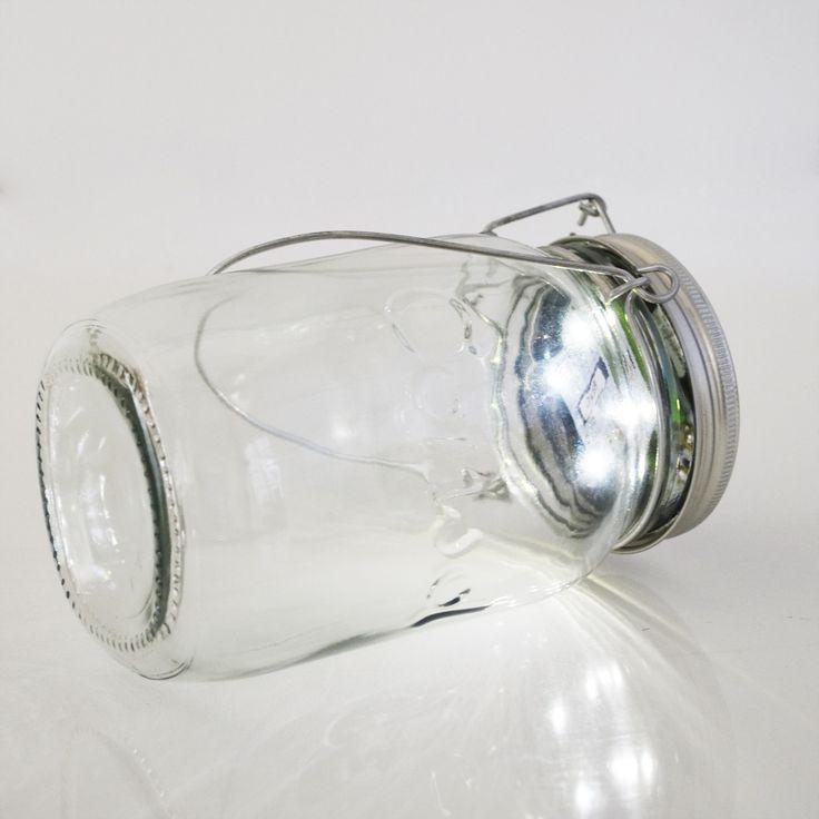 BOCAL SOLAIRE - Lanterne d'extérieur LED solaire H18cm Consol Solar Jar
