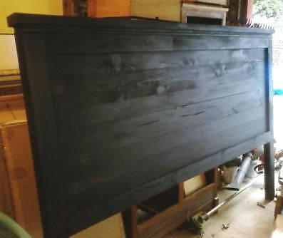 DIY King headboard!! YES! This will be happening! Way cheaper than buying one and I love the way it looks!