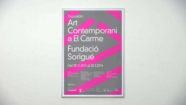 #artcontemporani #elcarme #fundaciosorigue #badalona #postdatadesign