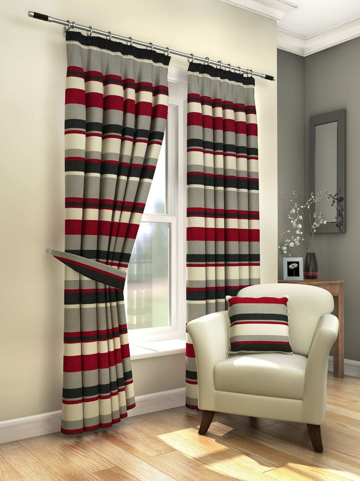 14 Best Gordon John Curtains Images On Pinterest Charcoal. Curtains Red  White Striped Best Gray ...