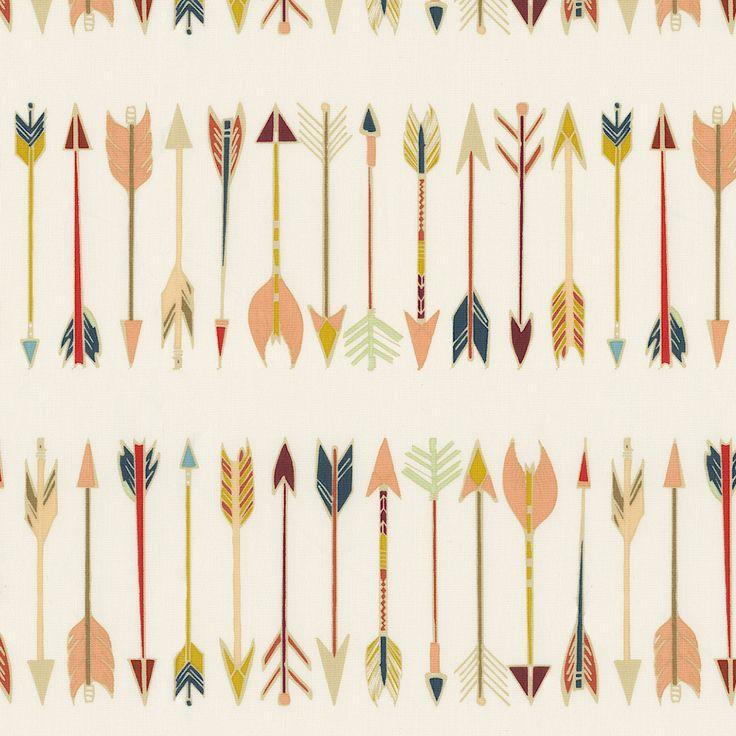 Tribal Arrow Fabric by the Yard #carouseldesigns
