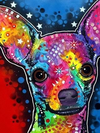 Chihuahua Painting by Dean Russo