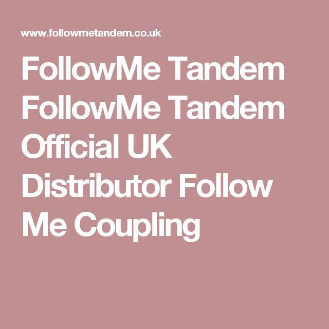 FollowMe Tandem FollowMe Tandem Official UK Distributor Follow Me Coupling