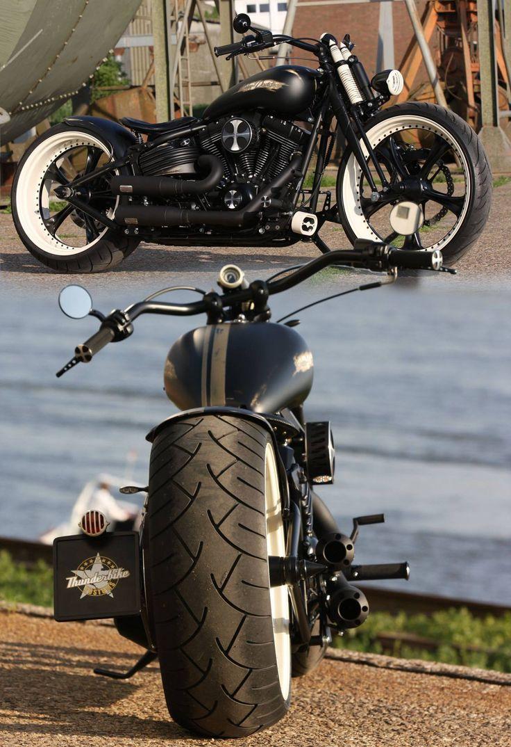 Customized Harley-Davidson Softail Rocker by Thunderbike.