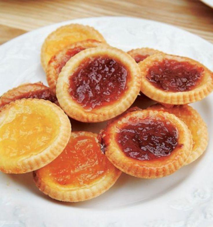 Jam Tarts. What we had before cupcakes!