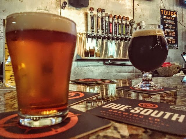 Due South Brewing in Boynton Beach one of Florida's better breweries | www.aladycrafter.com