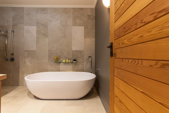 Stunning luxurious bathroom. Interior Design services by Urban Lounge Interiors