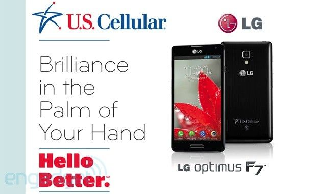 LG Optimus F7 for US Cellular leaks through company documents
