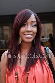 The 25 best highlights on african american hair ideas on image result for burgundy highlights on african american hair pmusecretfo Image collections