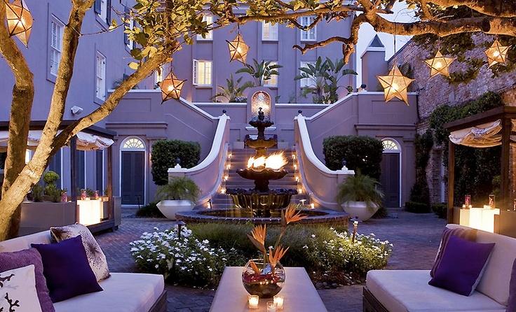 W Hotel Courtyard, New Orleans