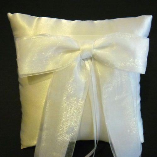 Ring Bearer Pillow with Large Bow