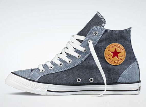 Chambray Chucks #converse #chucktaylor #hightops