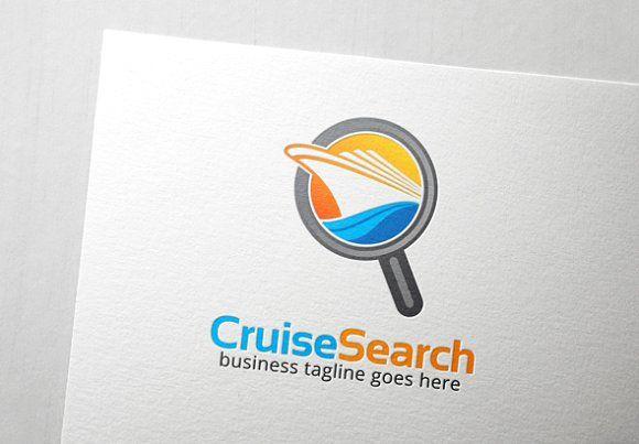 Cruise Search Logo by Slim Studio on @creativemarket