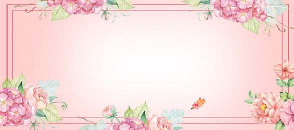 Flower Hand Painted Watercolour Backgrounds Images Psd And