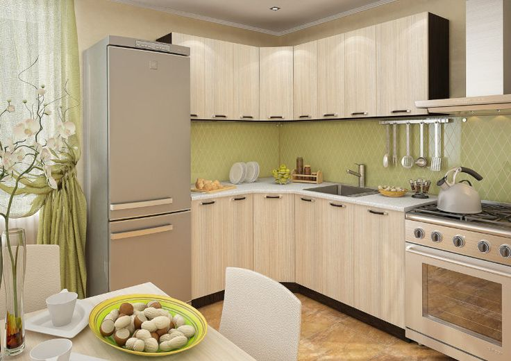 Кухня Ривьера-08 угловая (1950х1450)