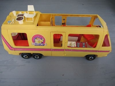 Totally had this motorhome! wow..memories of pushing it all over our basement floor, taking the Barbies for a road trip with Ken. LOL