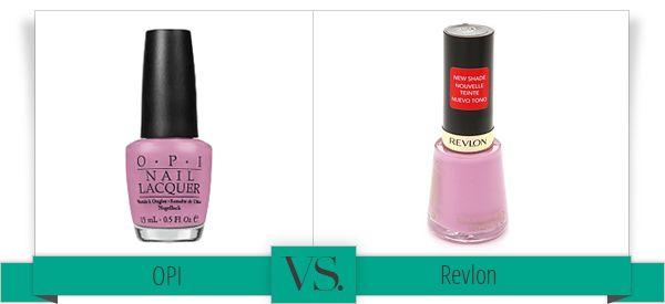 OPI VS Revlon GET FLIRT BY REVLON