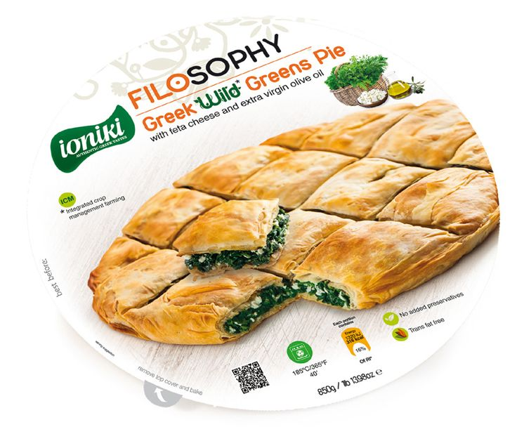 Nature experience  GREEK WILD GREENS PIE with feta cheese and extra virgin olive oil.    A Greek homemade, traditional recipe that…derives from nature straight to your table. Freshly picked spinach, vlita, leek, chicory, endive and chard combined with the authentic feta cheese mixed with extra virgin olive oil. The healthy choice for a complete delicious meal for all family members.