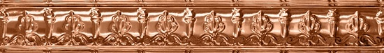 Pressed Tin Ceiling Copper Finish