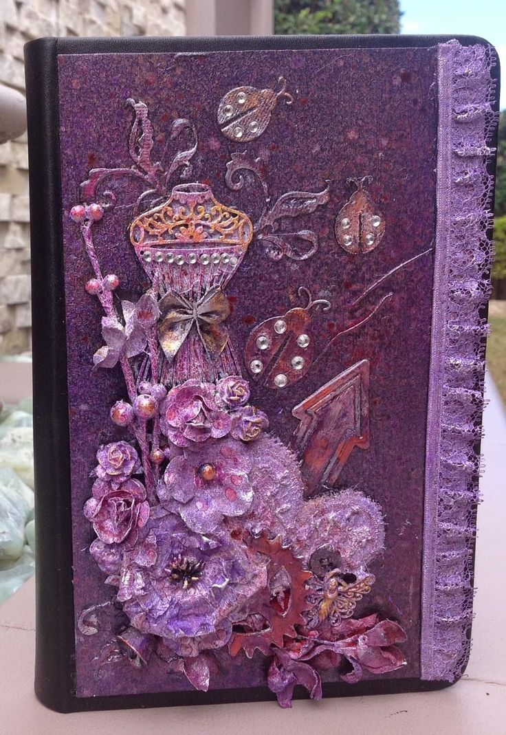 Mixed Media Journal by Lesa Bird