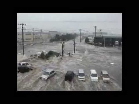 Scariest Japan Tsunami Video Ever!