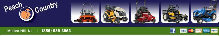 Tractor and Lawn Mower Sales in South Jersey