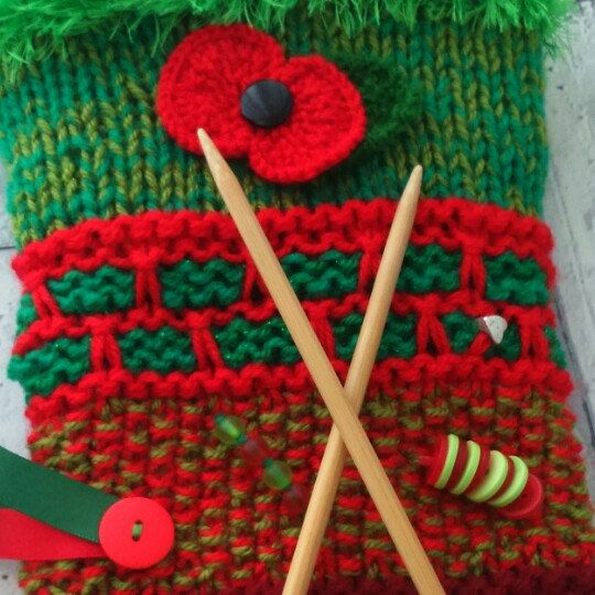 Dementia sensory muffs, can be made to order with a donation to dementia UK