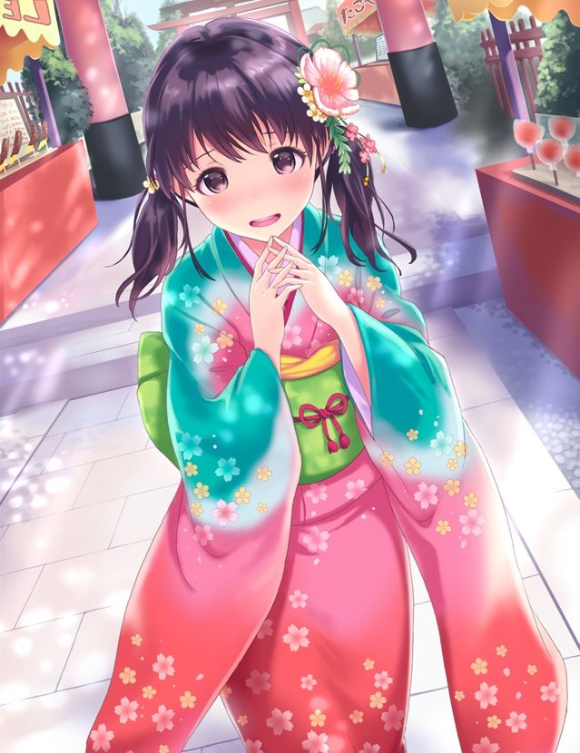 1000+ Images About Anime Girls (Kimono/Traditional