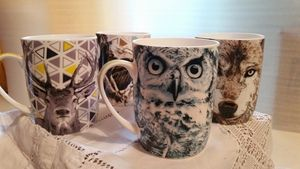Wilderness Collection Designed By Longina Phillips Studio, Large Can Mug in…