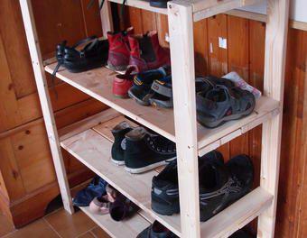 Schuhregal selber bauen obi  25+ parasta ideaa Pinterestissä: Selbst bauen schuhregal ...
