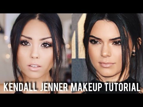 Kendall Jenner Inspired Makeup Tutorial   MTV Movie Awards 2016   Roxett...