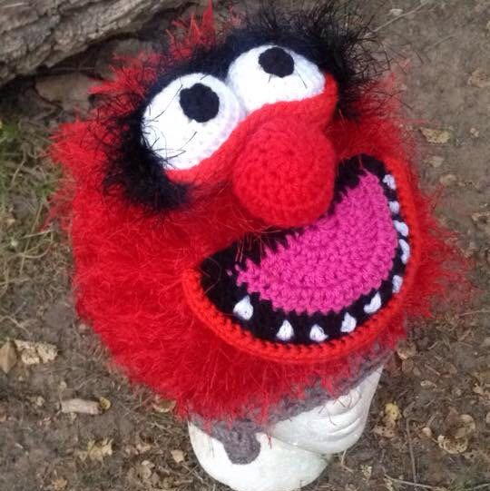 Who doesn't love The Muppets, seriously?! Check out my huge selection of muppet hats and if you don't see a certain character in my shop you can always custom request, I write all my own patterns sized NB-adult man so you will get the hat you desire!