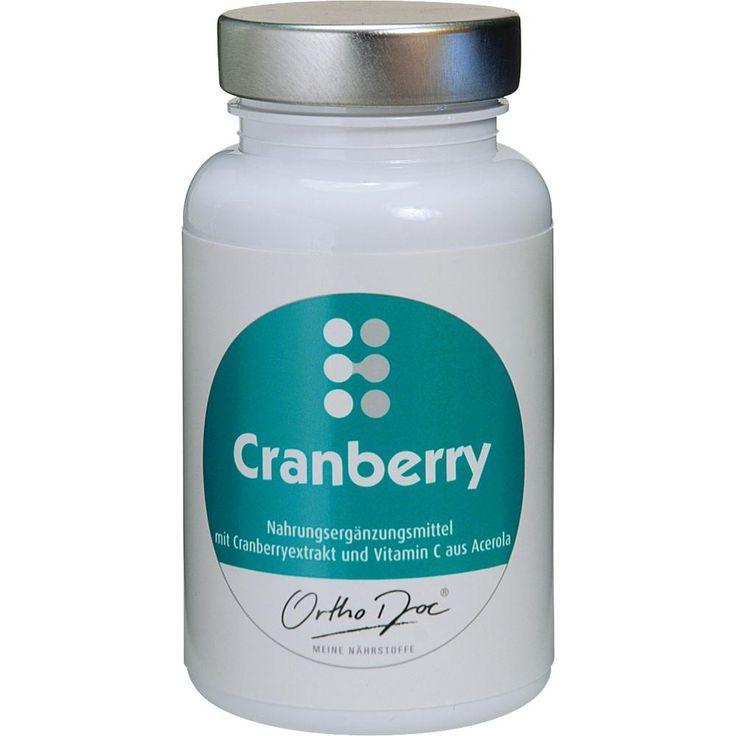 ORTHODOC Cranberry Kapseln:   Packungsinhalt: 60 St Kapseln PZN: 06324376 Hersteller: Kyberg Vital GmbH Preis: 9,70 EUR inkl. 7 % MwSt.…